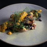 12102015 Le Pigeon Pork Belly and Blackened Octopus 02_credit Carly Diaz.jpg